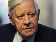 Helmut Schmidt Bundeskanzler 2009 SPD dpa