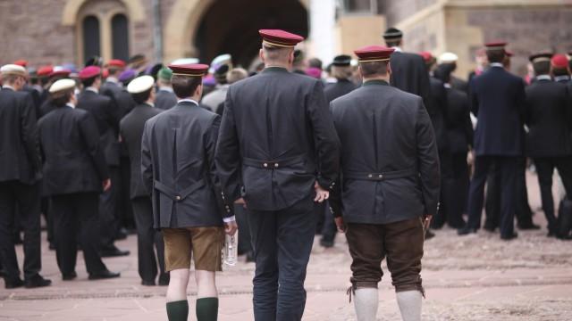 Burschenschaften Meet Amidst Accusations Of Discrimination