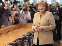 Angela Merkel Speaks On Current Issues