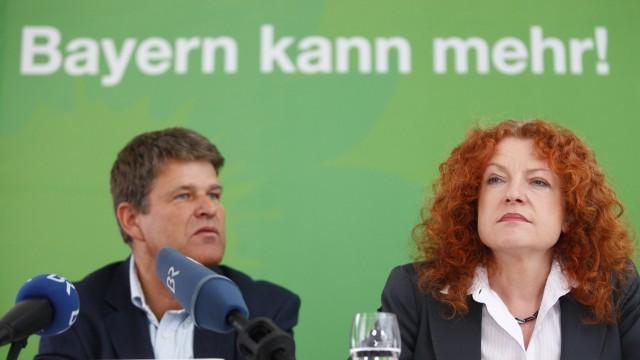 Herbstklausur der bayerischen Gruenen in Erlangen