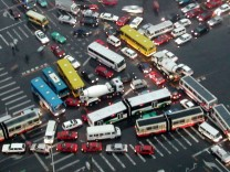 Megacity, Mobilität, Verkehrsprobleme