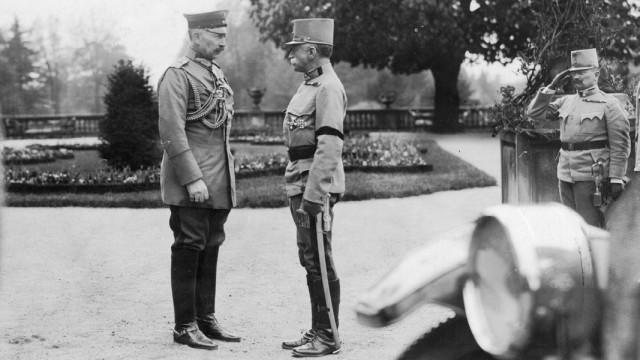 Kaiser Wilhelm II. mit Franz Conrad von Hötzendorff, 1915 Erster Weltkrieg