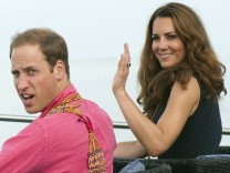 The Duke And Duchess Of Cambridge Diamond Jubilee Tour - Day 7