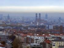 Stadtansicht von München, 2008