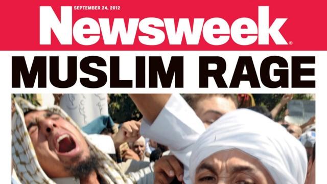 Mohammed-Film Newsweek-Aktion zu muslimischen Protesten