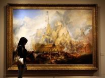 """Das Bild """"Schlacht von Trafalgar"""" von William Turner"""