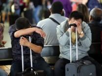 Streik der Lufthansa-Flugbegleiter - Frankfurt