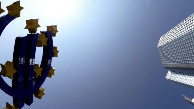 EUROPEAN CENTRAL BANK HEADQUARTER IS SEEN IN FRANKFURT