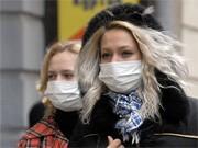 Schweinegrippe Ukraine, dpa