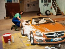 Mercedes SL, SZ-Magazin, Auto, Cabrio, Kunst