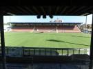 Baustelle Grünwalder Stadion.