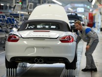 Porsche nimmt Boxster-Produktion in Osnabrueck auf