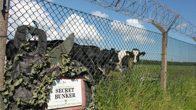Bunker Schottland Großbritannien Crail