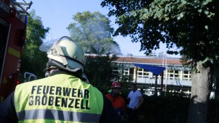 Groebenzell: Brand Evangelischer Kindergarten / Zachaeus-Kindergarten
