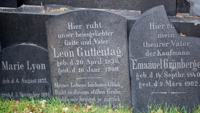 Breslau Polen Jüdischer Friedhof Grabmale