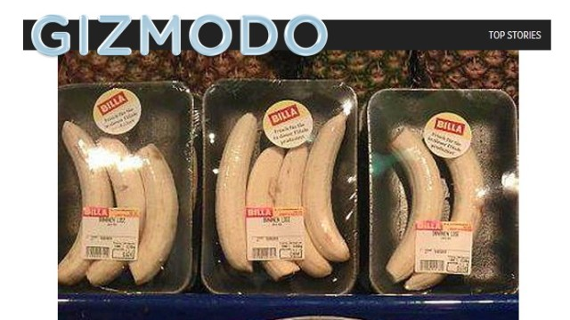 Tumult um nackte Billa-Bananen #nakedbanana