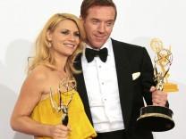 Claire Danes und Damian Lewis bei den Emmy Awards 2012 Homeland