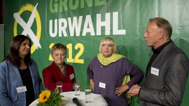 Gruene starten Kandidatenkuer fuer Bundestagswahlkampf 2013