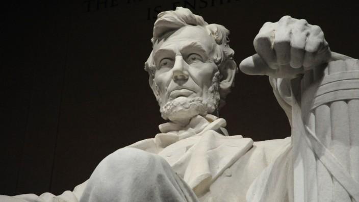 Städtetipps von SZ-Korrespondenten Washington Abraham Lincoln Memorial