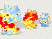 feinstaub, interaktiv, grafik, muenchen, deutschland