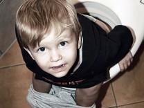 Windel Trocken Sauberkeitserziehung Kind Töpfchen Klo Toilette