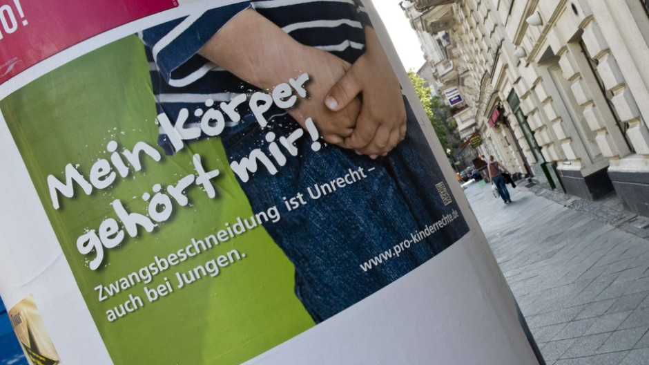 Kampagne gegen religiöse Beschneidungen