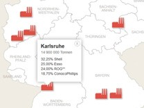 Oelraffinerien in Deutschland Teaser