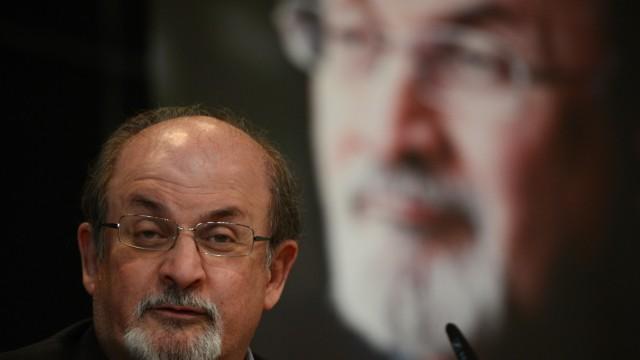 Salman Rushdie in Berlin