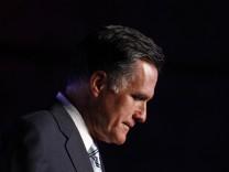 USA Mitt Romney TV-Duell Fernsehduell