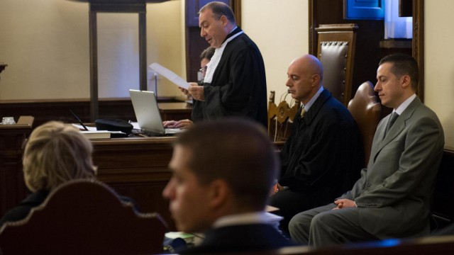 POPE'S BUTLER ON TRIAL