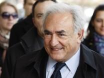 Vergewaltigungs-Ermittlungen gegen Strauss-Kahn eingestellt