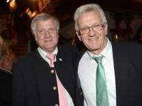 Horst Seehofer Winfried Kretschmann Lämderfinanzausgleich