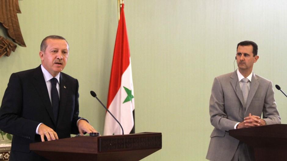 Bürgerkrieg in Syrien Konflikt Syrien-Türkei
