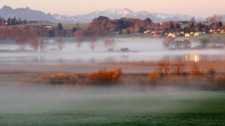 Nebel am Chiemsee