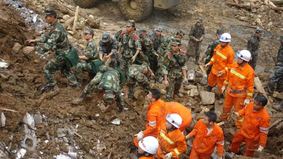 Naturkatastrophe China