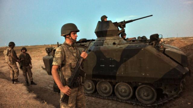 Konflikt in Syrien Türkisch-syrischer Konflikt
