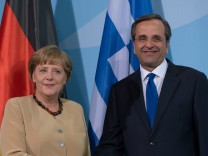 Bundeskanzlerin reist ins krisengeschuettelte Griechenland