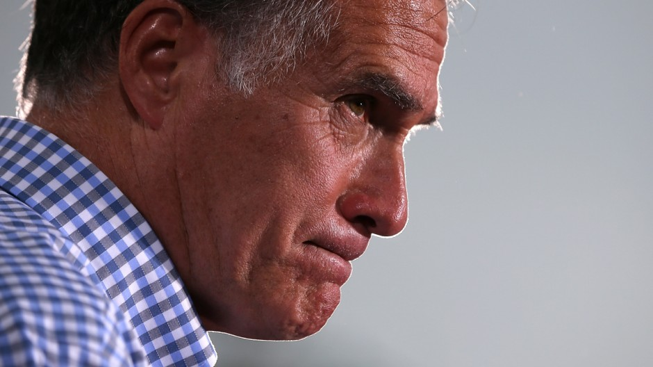 Mitt Romney Campaigns In Florida And Virginia