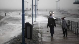Unwetter in Nordfriesland