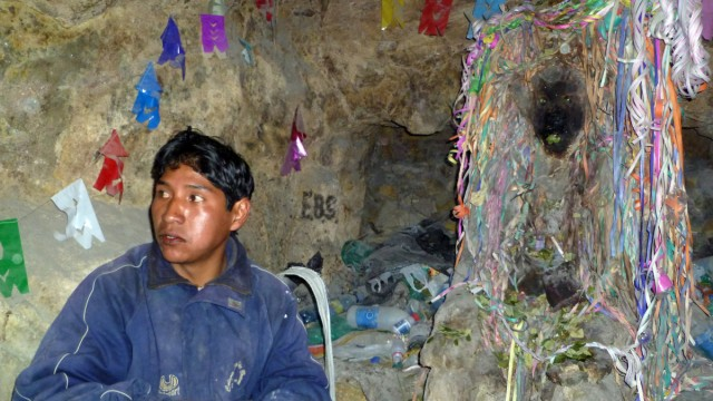 Bolivien Südamerika Potosi Silbermine Cerro Rico