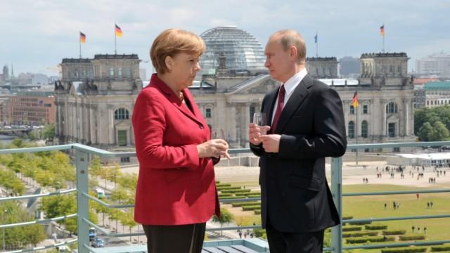 Wladimir Putin Deutsch-russisches Verhältnis