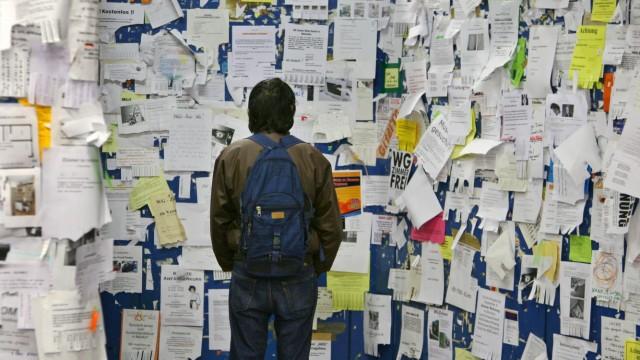 Student auf Wohnungssuche, 2007