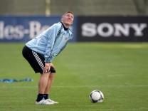 Fußball-Nationalmannschaft - Training