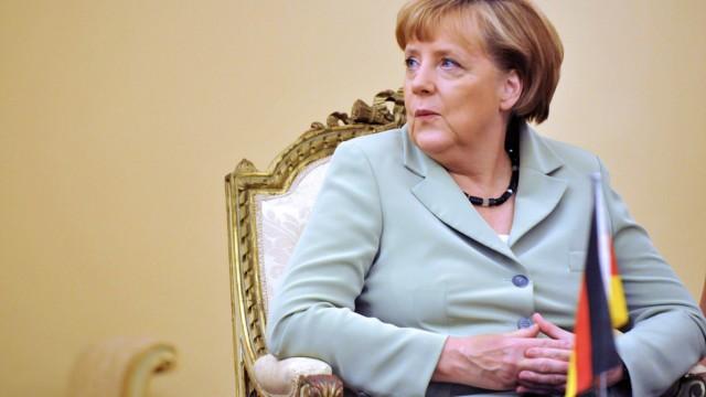 Schuldenkrise in Europa Griechenlandvisite der Kanzlerin