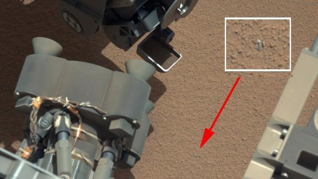 """Mars-Rover """"Curiosity"""" findet seltsames Objekt"""