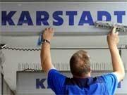 Karstadt-Mitarbeiter; ddp