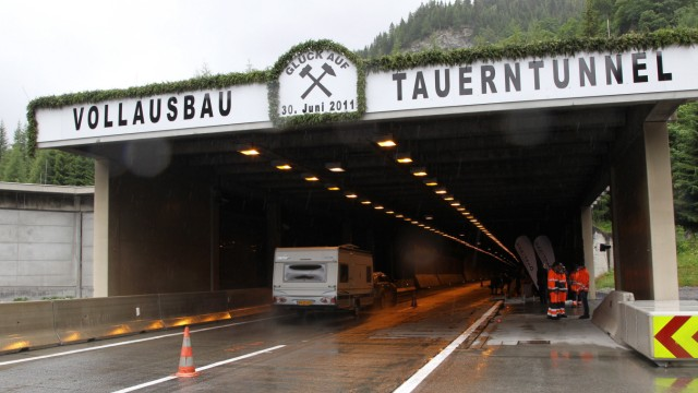 ADAC-Tunneltest - Tauerntunnel