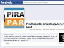 Screenshot Piratenpartei Berchtesgadener Land
