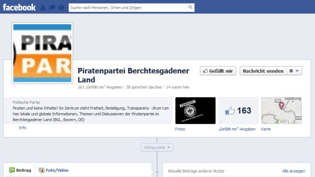 Screenshot Piratenpartei Berchtesgadener Land