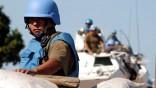 Uruguayische UN-Soldaten auf Patouille in Bunia